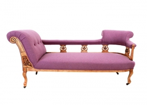 Chaise longue archives nicola parkes upholstery for Bespoke chaise longue